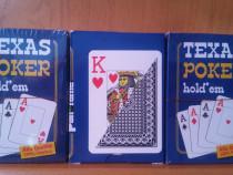 Texas poker hold*em 100% plastificate