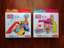 Fisher price spinning garage si gingerbread park ,, noi ,,