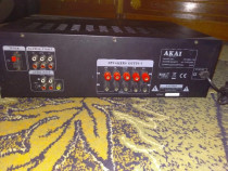 Amplificator Akai AS110RA-320, 5.1, 90W RMS, Negru + Boxe