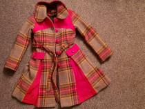 Palton fetițe 8-10ani