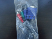 Cablu VGA tata la 3 RCA