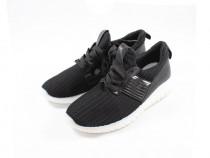 Pantofi sport, culoare negru, model tricotat, marimi 36, 38