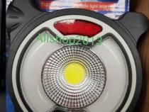 Lampa LED solara , USB, 3 faze luminoase, reincarcabila