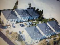 Construiesc case moderne in rosu sau semifinisate