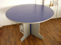 Masă rotundă mare diametru 121 cm înălțime 83 cm