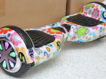 Hoverboard flowers 1000w nou sigilat husa cadou
