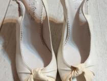 Sandale damă de piele