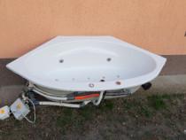 Vană baie cu hidromasaj