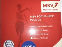 Racordaj tenis la plic msv focus hex plus25 grosime 1.25