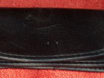 Port telefon din piele, la centură, vintage, 5 x 13 cm