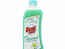 Detergent pardoseli Dual Power Mar Verde si Iasomie 1000 ml