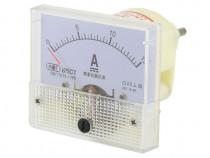 Ampermetru analogic de panou, 15A, DC, fara sunt - 111463
