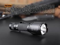 Fenix TK25 - Versiune Red - Lanternă Tactică - 1000 Lumeni -