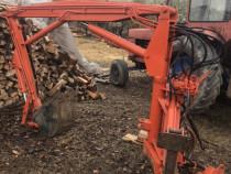 Excavator dupa tractor