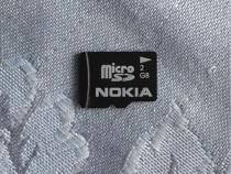 Card memorie microSD 2GB, Nokia