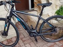 Bicicleta electrica asistată noua Cube Hybrid