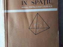 Geometria in spatiu 1960 manual cla aX-a reala