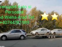 Transport auto si persoane