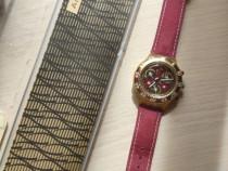 Ceas Vintage Swatch AquaChrono Midi Red Sun Elveția