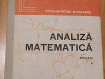 Analiza matematica. Aplicatii de Catalin-Petru Nicolescu