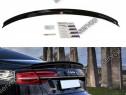 Eleron portbagaj spoiler cap Audi S8 D4 2013-2017 v2