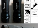 "Lanterna noua - led, 3w, 120lm, ip65 - haupa ""focus torch"""