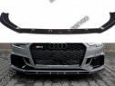 Prelungire splitter bara fata Audi RS3 8V FL Sedan 17- v4