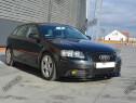 Prelungire splitter bara fata Audi A3 Sportback 8P MK2 v7