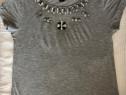 Tricou bluza cu aplicatie H&M