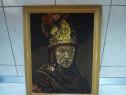 Tablou Goblen, portret cu rama