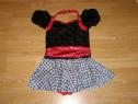 Costum carnaval serbare rochie dans balet 7-8 ani