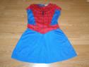 Costum carnaval serbare spiderman spidergirl 4-5-6 ani