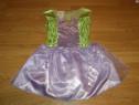 Costum carnaval serbare zana clopotica tinkerbell 4-5-6 ani