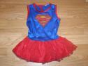 Costum carnaval serbare superman supergirl 3-4 ani