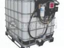 Bazin rezrervor 600 litri cu pompa motorina