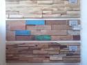 Mozaic de lemn 2D si 3D placari pereti