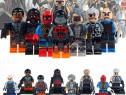 Set 8 Minifigurine tip Lego Super Heroes cu Lucas Bishop si