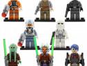 Set 8 Minifigurine tip Lego Star Wars cu Kit Fisto