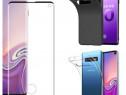 Husa Silicon si Folie Curbata Samsung S8 S8+ S9 S9+ S10E S10