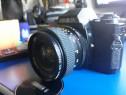 Minolta x-370s + Obiectiv Minolta MD 28 mm f2.8 Formula 5