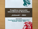 Pregatirea concursului de matematica Arhimede, cls III-XII