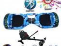 HoverBoard Blue Galaxy 1000w Telecomanda-Bluetooth Geanta BO