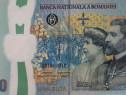 Bancnota aniversara 100 lei - 100 de ani de la Marea Unire