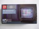 K, Germania, simulator TV cu 12 LED-uri, nou, la cutie, ce