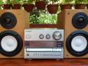 Combina cu boxe Aiwa 2 x 30W, Auxiliar CD Radio Iesire Sub