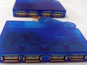 HUB USB albastru - 4 x USB