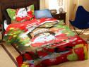 Lenjerie de pat Moș Crăciun