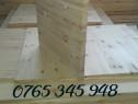 Blat masa 43 mm grosime, 700 mm diametru din lemn masiv de p