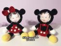 Rame foto crosetate Minnie și Mickey Mouse