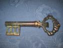5923-Tirbuson Cheie bronz verde antichizat.